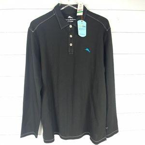 NWT Tommy Bahama IslandZone Long Sleeve Polo Shirt